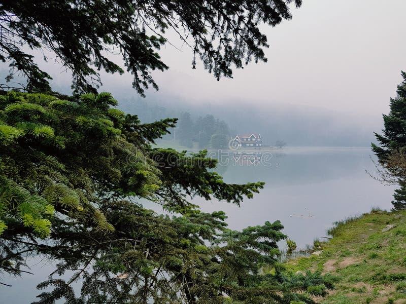 Gölcük Lake royalty free stock image