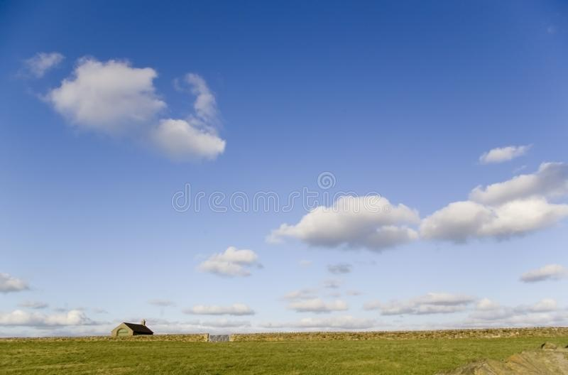 The lonely house royalty free stock image
