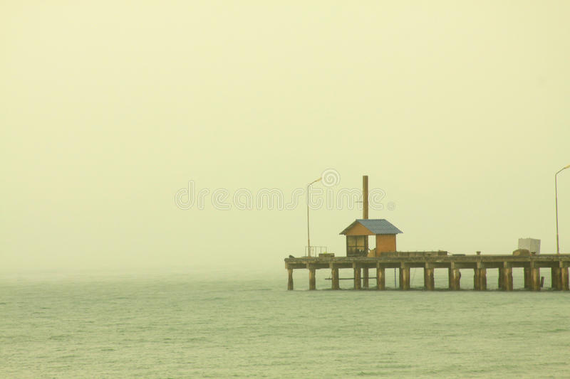 Download Lonely house in sea stock image. Image of water, nature - 26296023