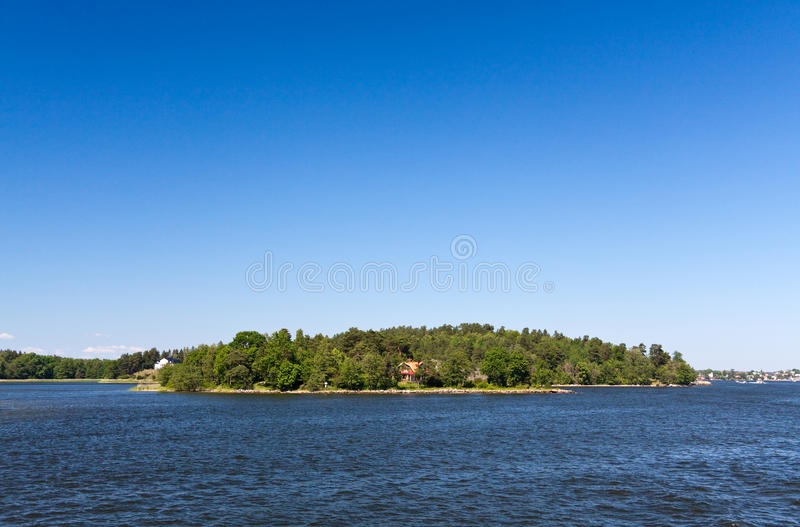 Download Lonely Island In Sweden,Stockholm Archipelago Stock Photo - Image: 10019762