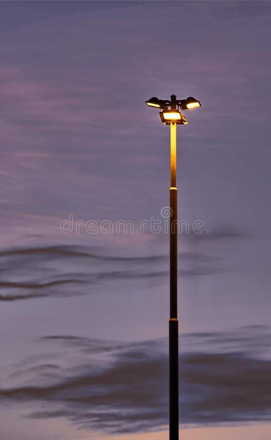 Download Lonely Lighting Pole Stock Photo - Image: 22790420