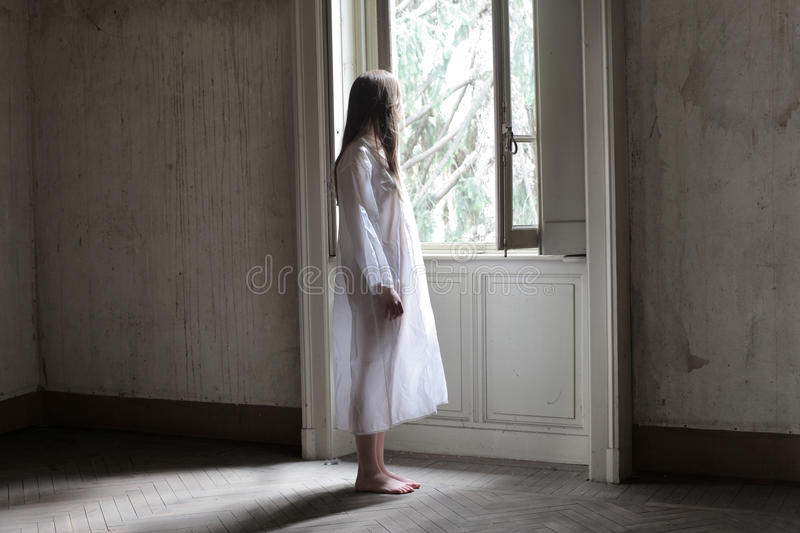 Lonely morning stock photography