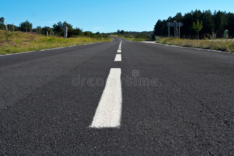 Download Lonely Road Royalty Free Stock Photography - Image: 1033667