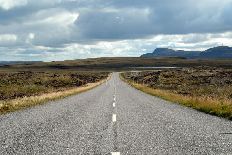 Lonely Road Royalty Free Stock Photo