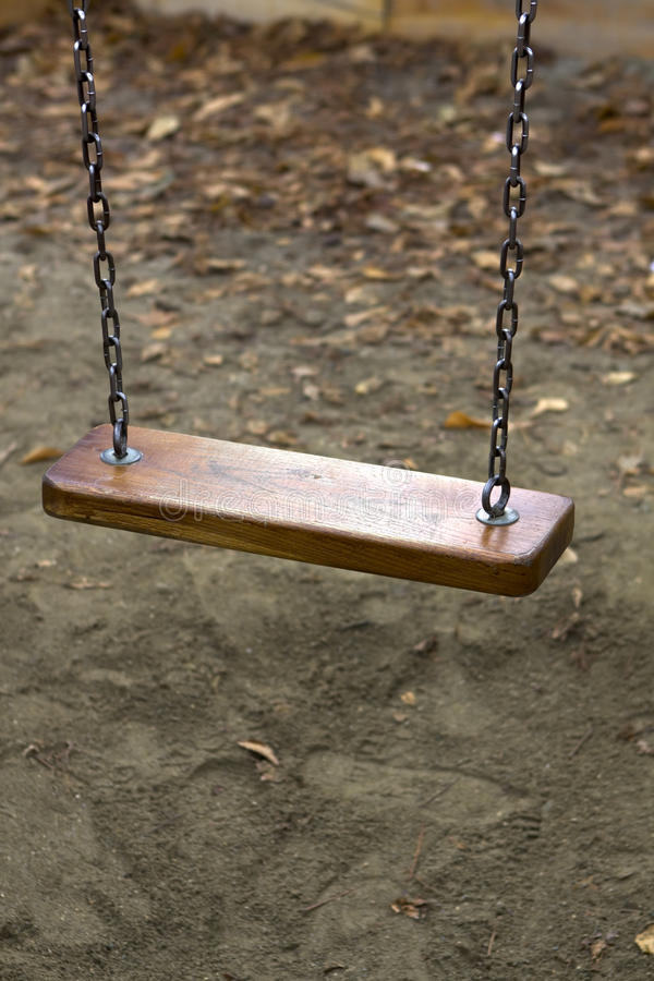 Free Lonely Swing Stock Image - 12540041