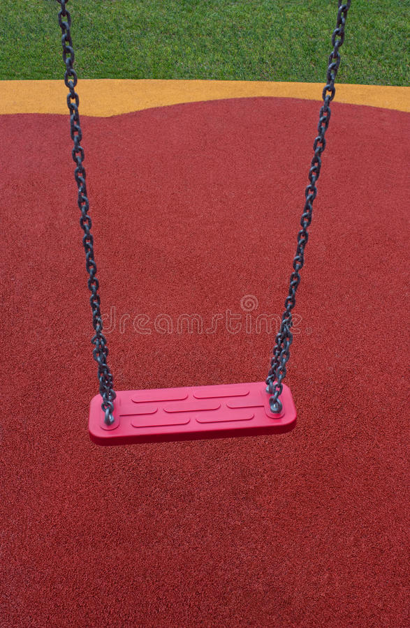Lonely swing royalty free stock images