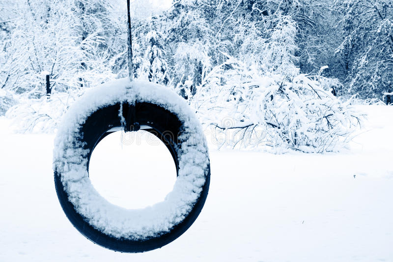 Download Lonely Tire Swing Royalty Free Stock Photography - Image: 10332037