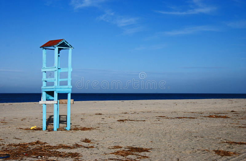 Lonely turret royalty free stock images