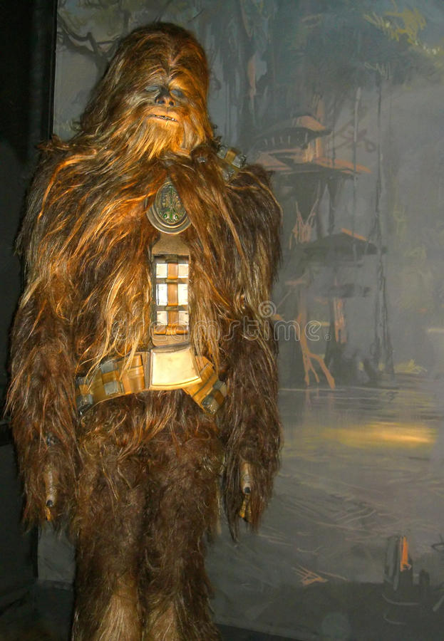 Lonely wookie stock photo