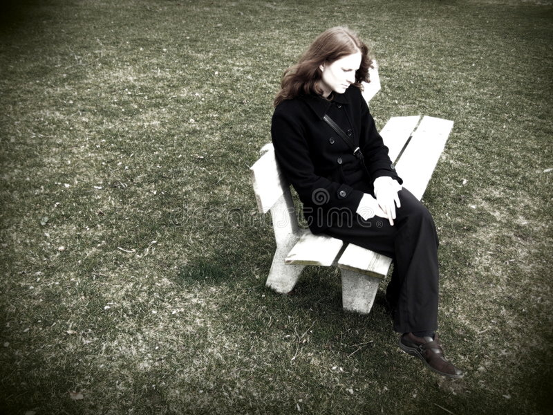 Download Lonely and Worried stock image. Image of loneliness, stressed - 2065405