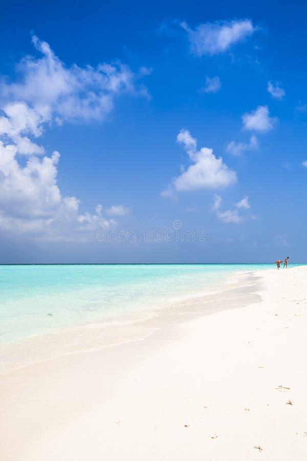 Lonesome Beach Stock Image
