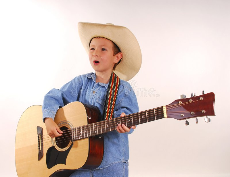 Lonesome Cowboy royalty free stock photos