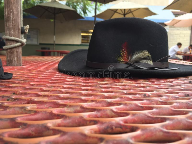 Lonesome Hat royalty free stock image