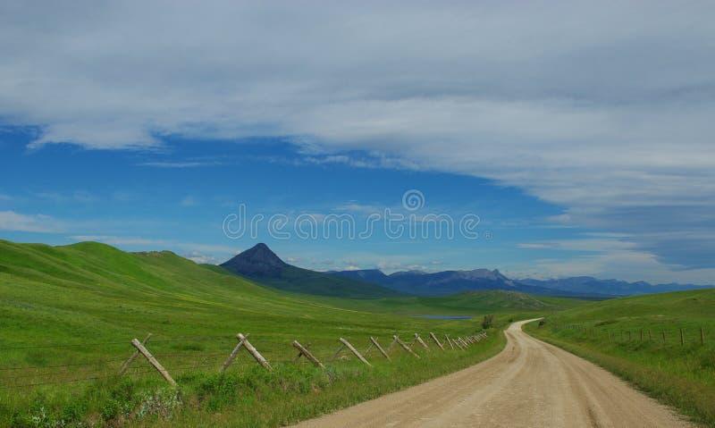 Lonesome road, Montana