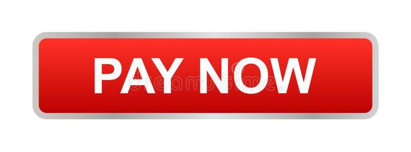 Pay now button stock photos