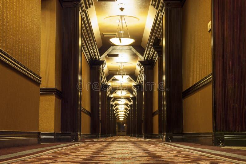 Download Long Art Deco Corridor Stock Photo. Image Of Past, Entrance    32910822