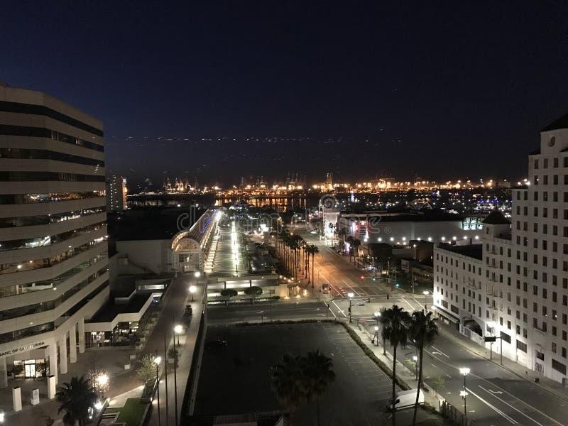Long Beach céntrica imagen de archivo