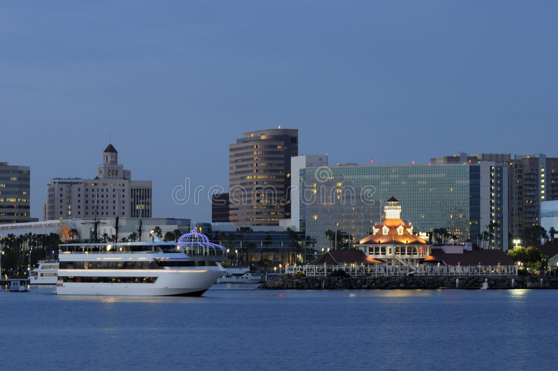 Long Beach CA royalty free stock photo