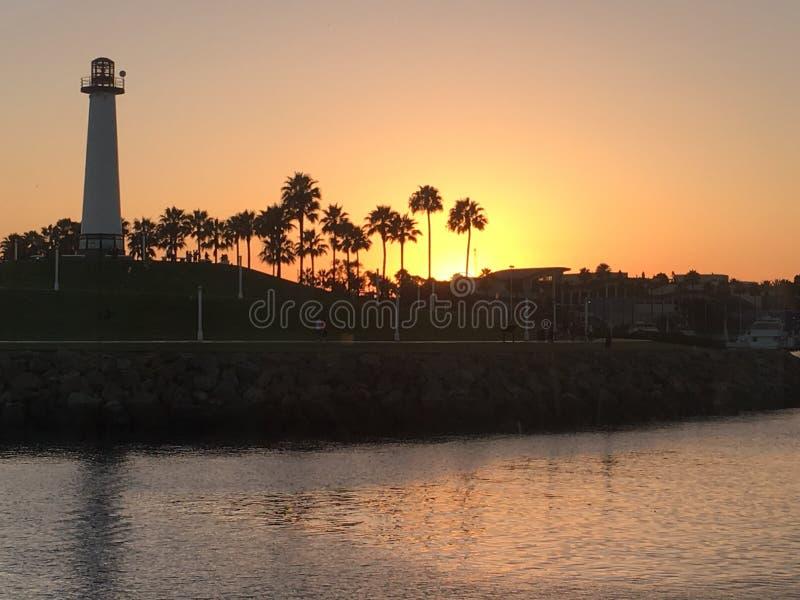 Long Beach Califórnia imagem de stock