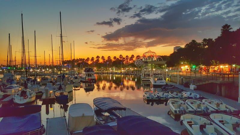 Long Beach California fotografie stock libere da diritti