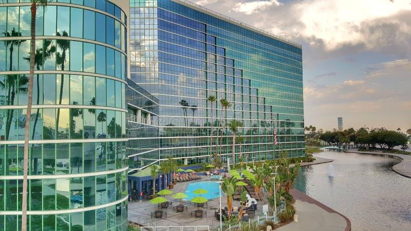 Long Beach California immagine stock