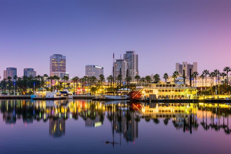 Long Beach California immagini stock