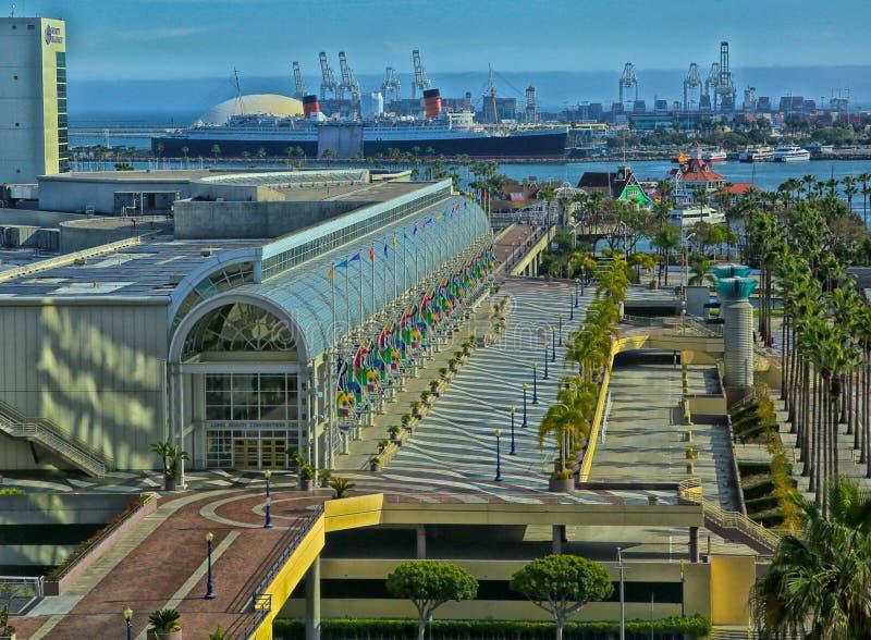 Long Beach convention center fotografia royalty free