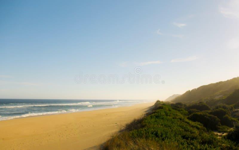 Long Beach en Corringle desliza la reserva de la playa, Victoria, Australia imagen de archivo libre de regalías