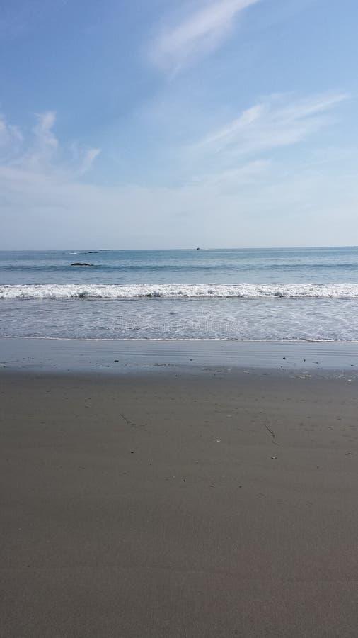 Long Beach -golven royalty-vrije stock foto