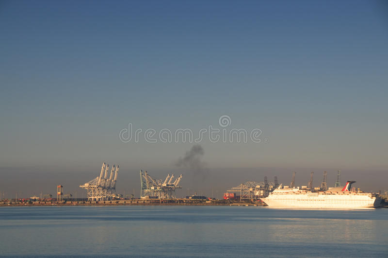 Long Beach -Haven stock foto's