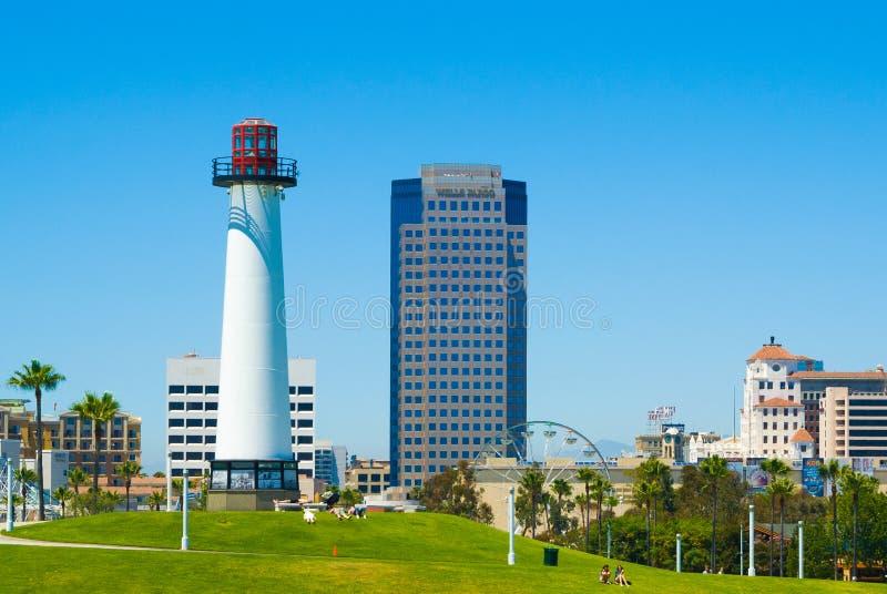 Long Beach, Los Angeles, California fotografia stock libera da diritti