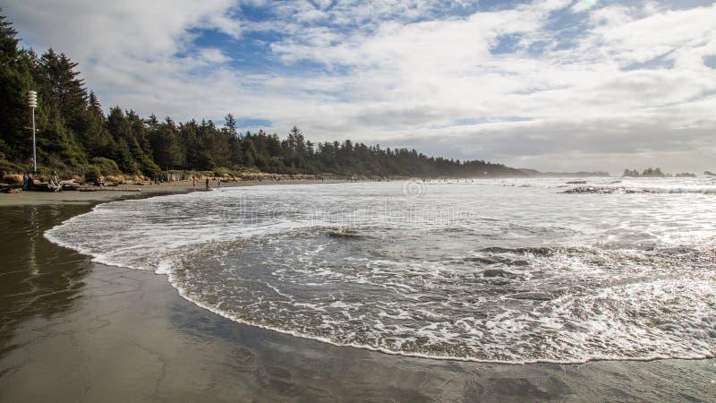 Long Beach Vancouver ö royaltyfria bilder