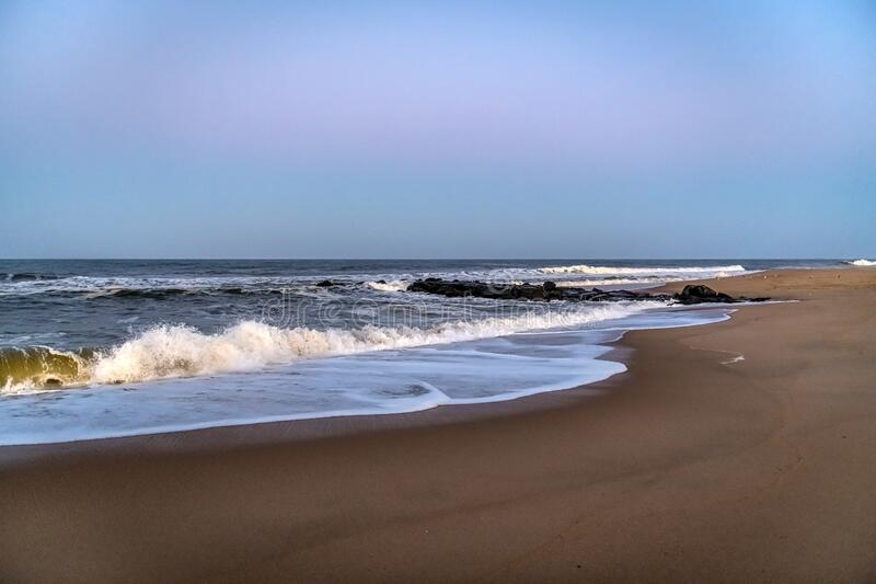 Long Branch Dusk royalty free stock photography