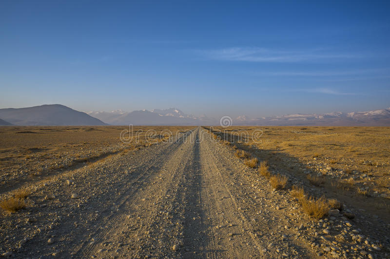 Long chemin images stock
