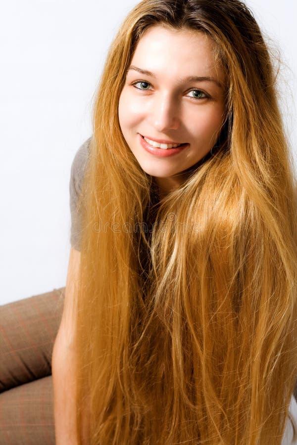 Long cheveu étonnant photos libres de droits