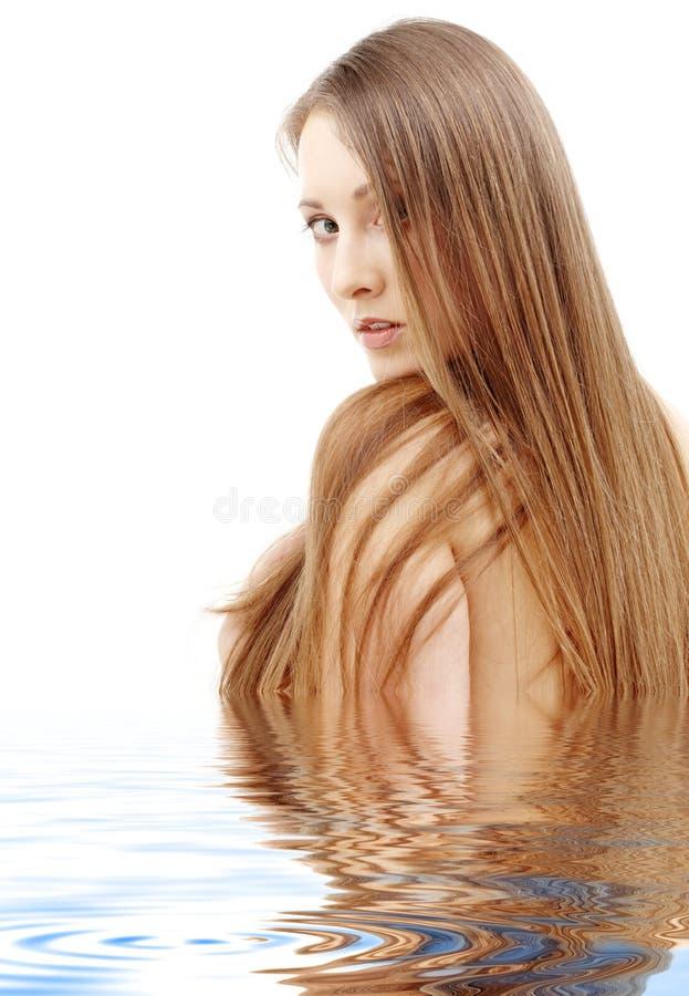 Long cheveu photos libres de droits