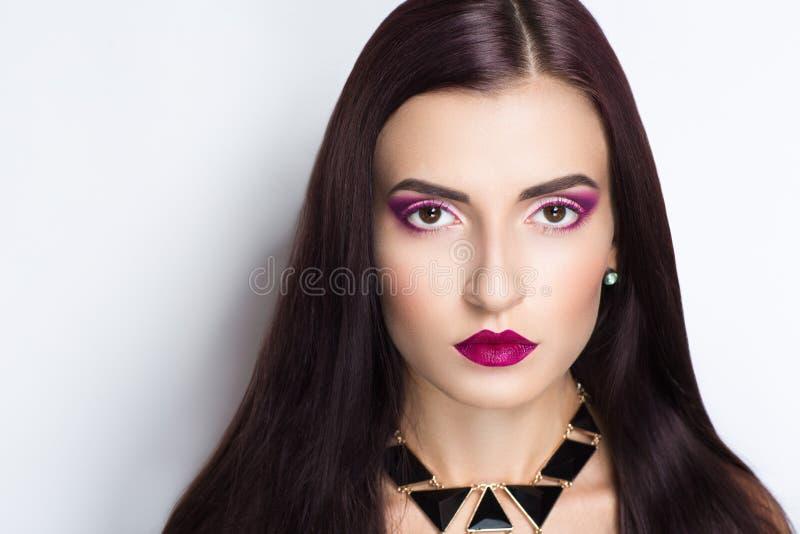 long cheveu de femme photo stock
