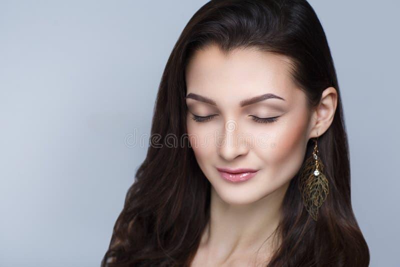 long cheveu de femme image libre de droits