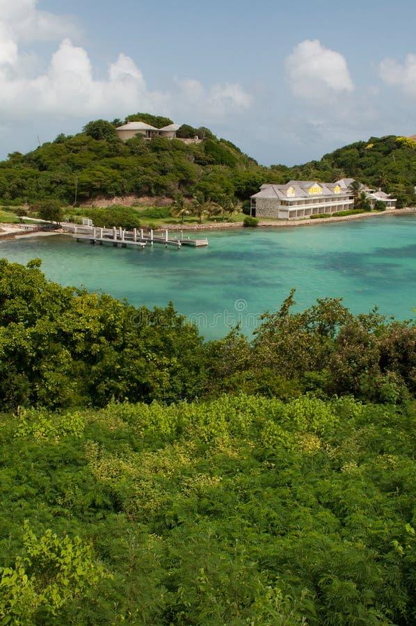 Long compartiment de l'Antigua photographie stock