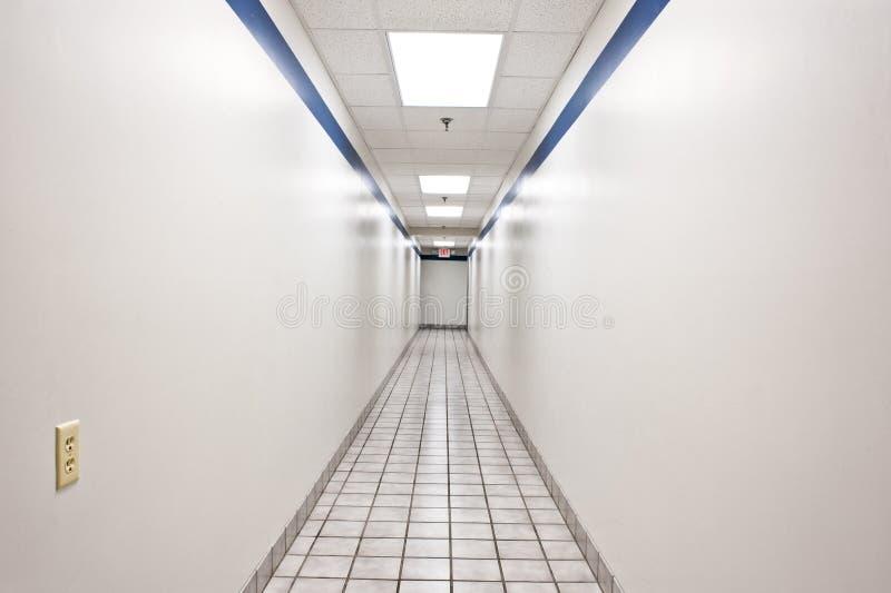 Long couloir de intimidation photos libres de droits