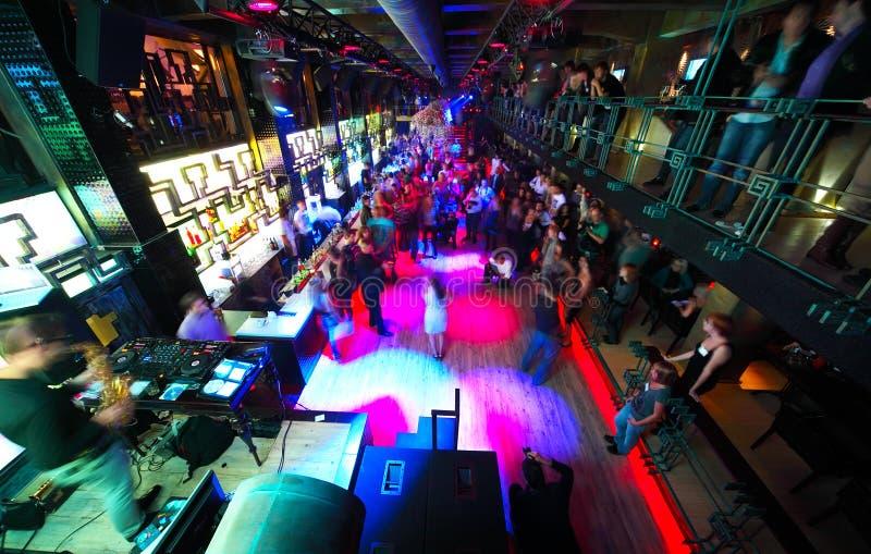 Download Long Dance Floor With Dancing People Editorial Stock Photo - Image: 20004398
