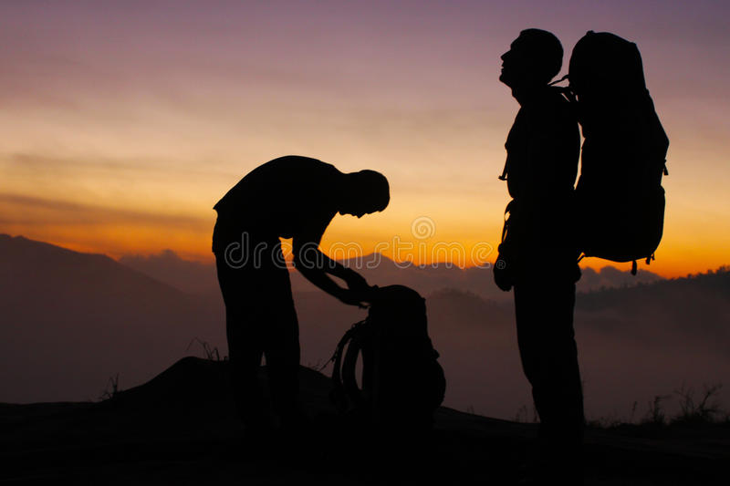 Download Long day hike stock image. Image of summer, adventure - 20911463