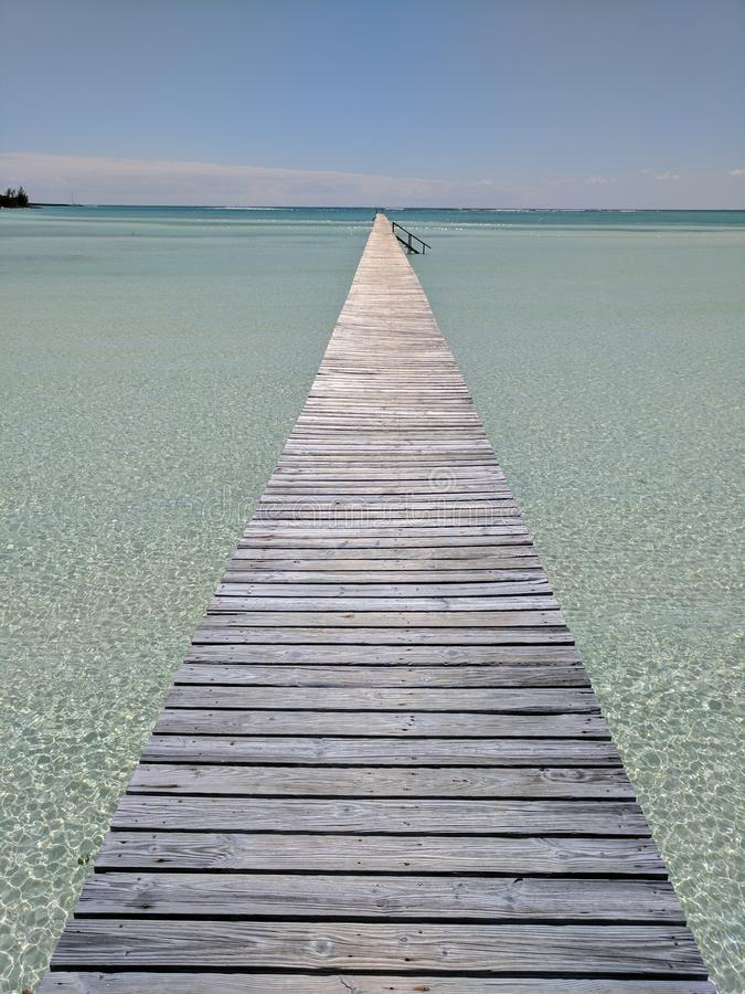 Long dock is long royalty free stock images