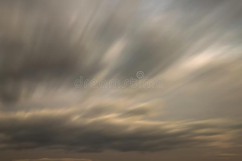 Blurred motion colorful clouds royalty free stock photos