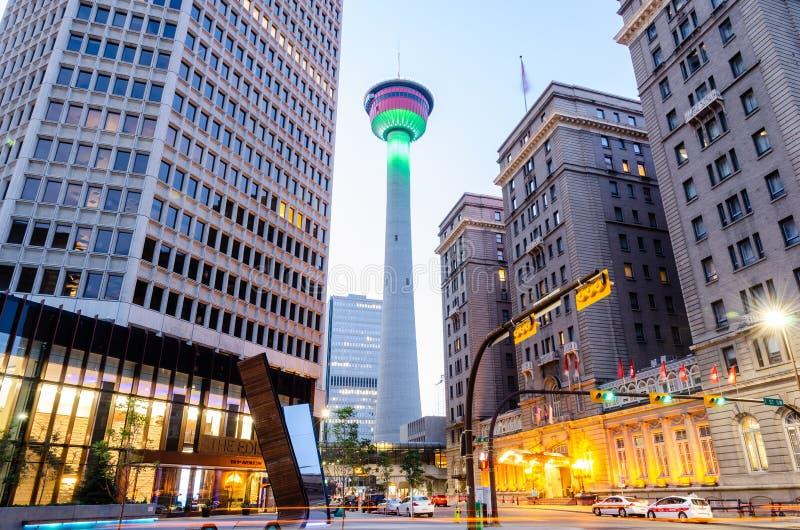 Calgary Tower, Calgary stock photos