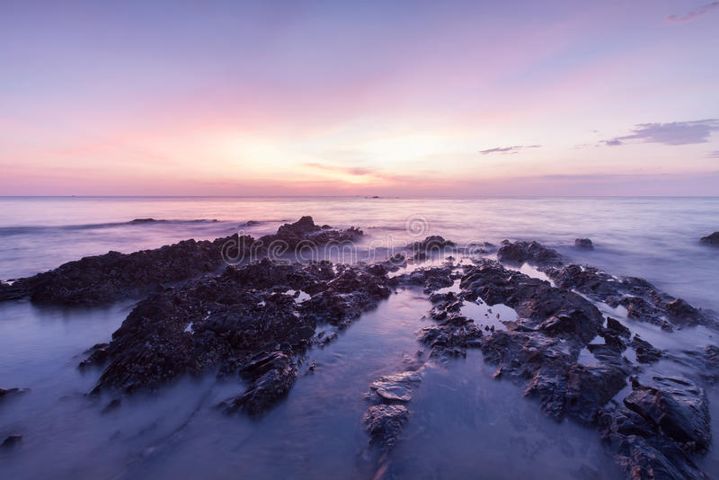 Download Long exposure landscape stock image. Image of level, dawn - 83724907