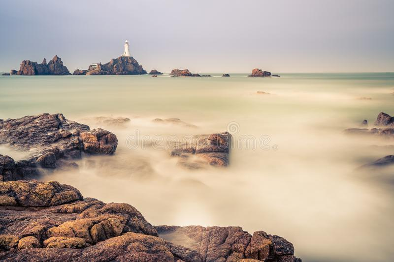Long Exposure Lighthouse stock images