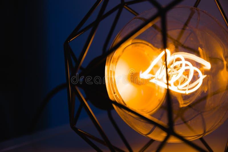 Long Exposure Photo of Pendant Lamp royalty free stock photos