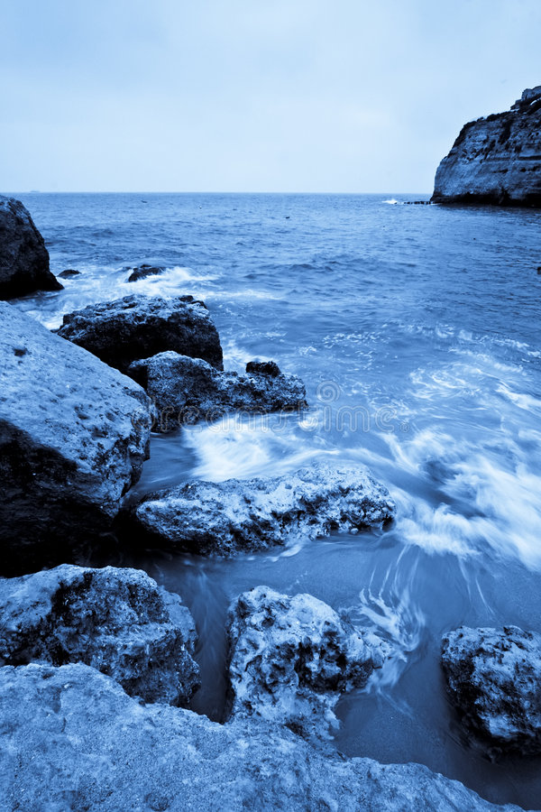 Download Long exposure in rocks stock image. Image of cape, landscape - 6019141