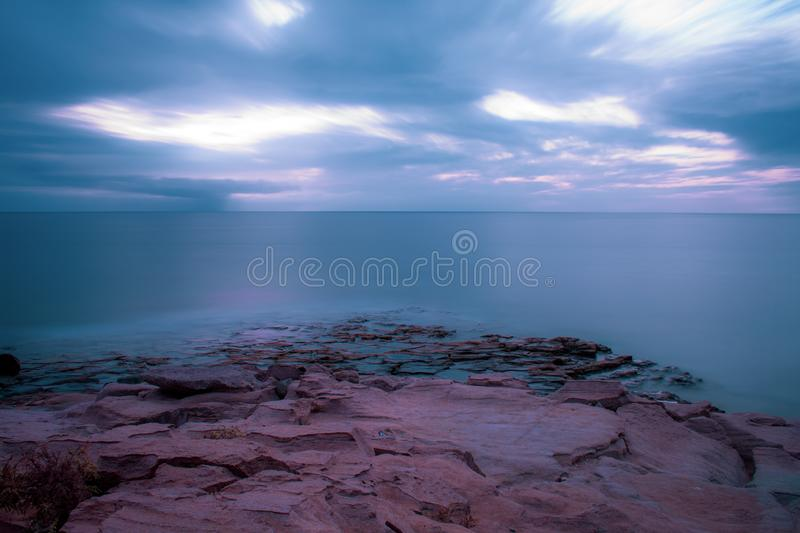 Long Exposure Seascape View royalty free stock image